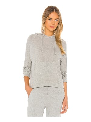 Enza Costa peached jersey easy hoodie