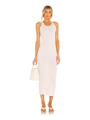 Enza Costa racer maxi dress