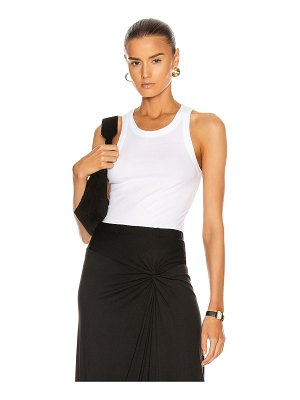 Enza Costa supima bold sheath tank