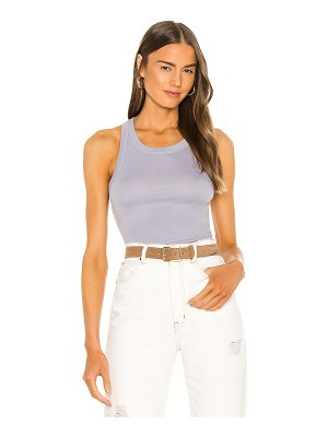 Enza Costa supima cotton bold sheath tank