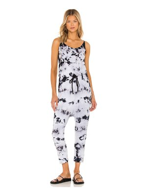 Enza Costa x revolve silk jersey drawcord slouch jumpsuit