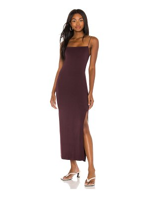 Enza Costa x revolve strappy side slit maxi dress