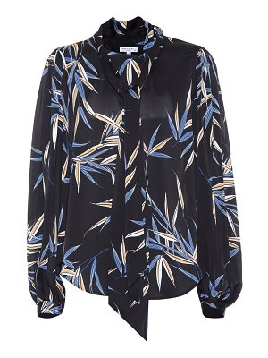 Equipment cleone printed blouse