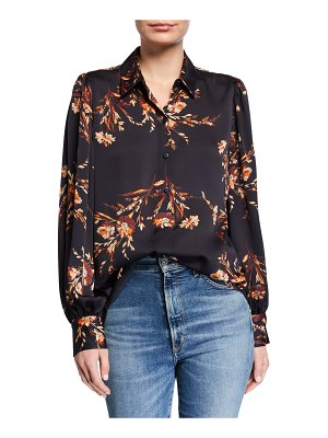 Equipment Danton Floral Button-Down Shirt