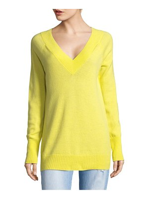 Equipment Double V-Neck Cashmere Sweater