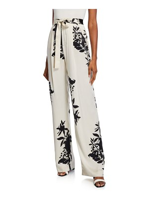 Equipment Evonne Printed High-Rise Trousers