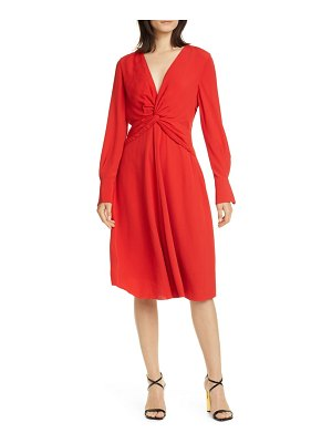 Equipment faun long sleeve dress