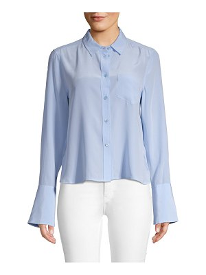 Equipment Huntley Silk Button-Down
