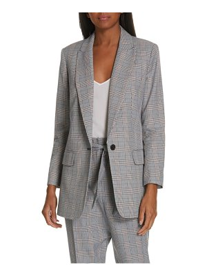 Equipment jeanne check blazer