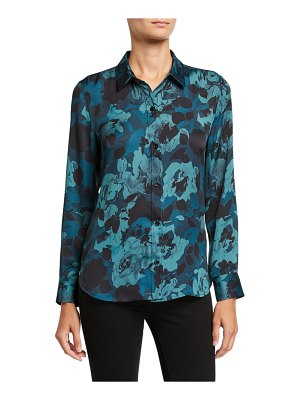 Equipment Leema Floral Button-Down Shirt
