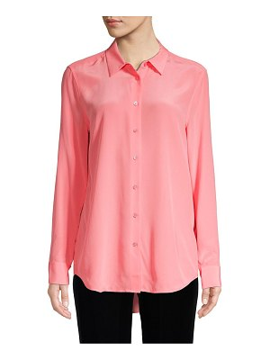 Equipment Lemon Zest Silk Button-Down Shirt