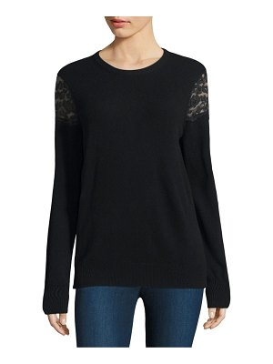 Equipment Shane Lace Shoulder Wool Sweater
