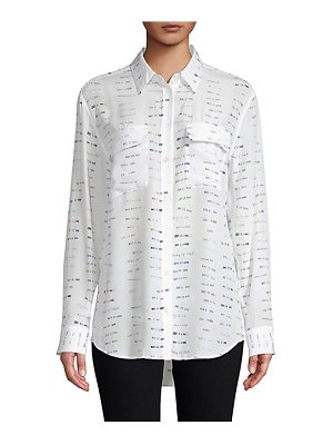 Equipment signature library stamp blouse