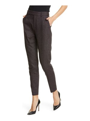 Equipment warsaw wool blend ankle trousers