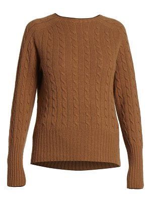 Erdem cashmere cable knit sweater