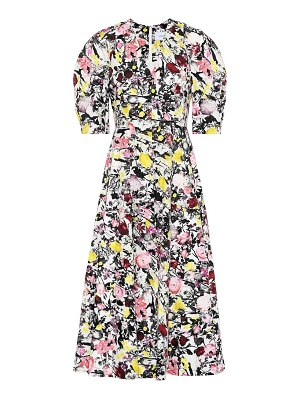 Erdem Cressida cotton poplin midi dress