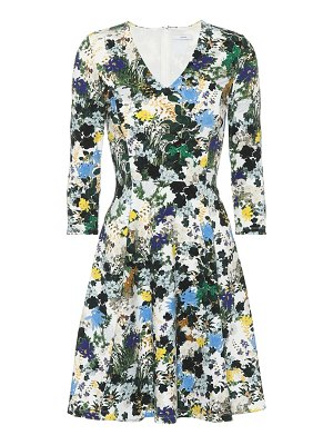 Erdem Floral jacquard dress