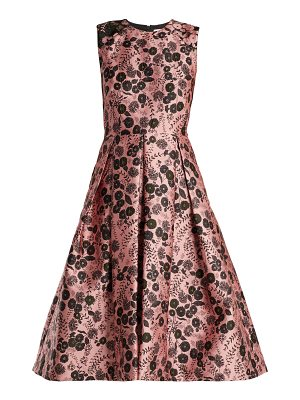 Erdem Indra Floral Jacquard Dress