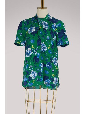 Erdem Karola short-sleeved blouse