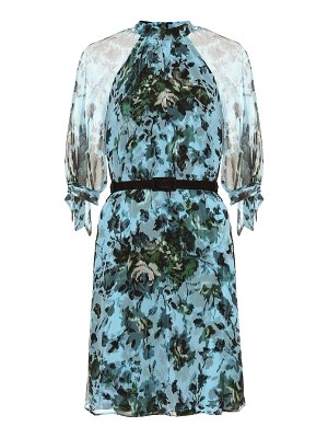Erdem Melodie silk voile dress