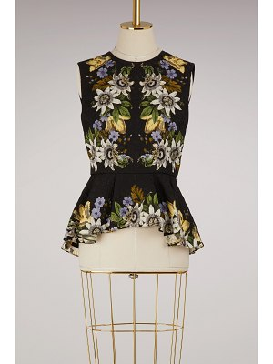 Erdem Queenie short sleeves top