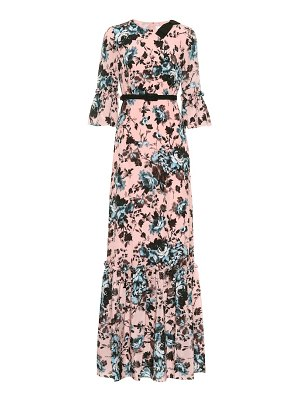 Erdem Senna silk crêpe de chine dress