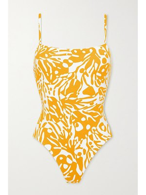 ERES mantaray printed swimsuit