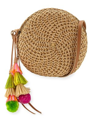 Eric Javits Bali Squishee Crossbody Bag with Tassels