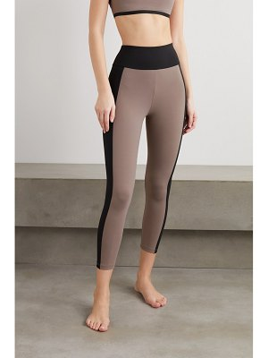 ERNEST LEOTY therese paneled stretch leggings