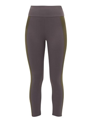 ERNEST LEOTY therese striped technical jersey leggings