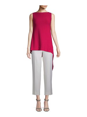 Escada Asymmetrical Sleeveless Top