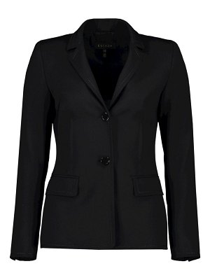 Escada brikenada stitch stretch-wool jacket