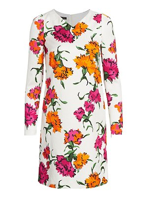 Escada dleah marigold shift dress