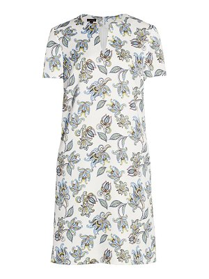 Escada dsissas floral paisley shift dress