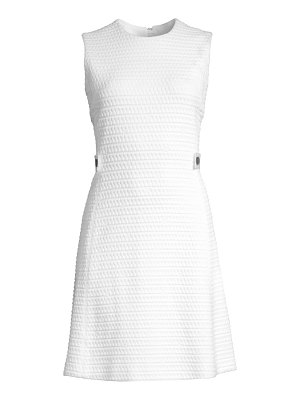 Escada Sport dyheart jacquard sleeveless dress