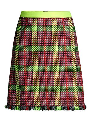 Escada Sport ringa tweed a-line mini skirt