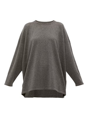 eskandar boat-neck cashmere sweater