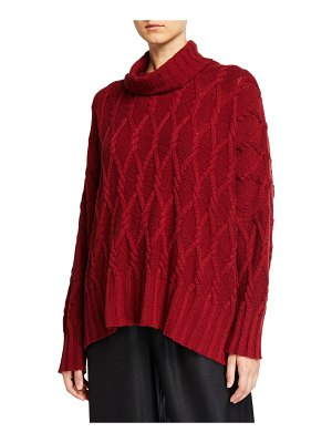 eskandar Cashmere Rolled Neck Top