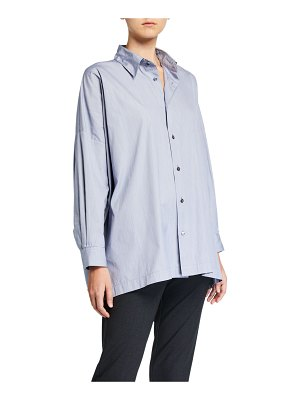 eskandar Cotton Wide Shirt