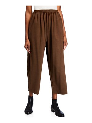 eskandar Japanese Lightweight Wool Trousers