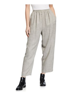 eskandar Japanese Wool Trousers