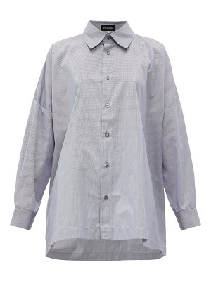 eskandar oversize cotton shirt