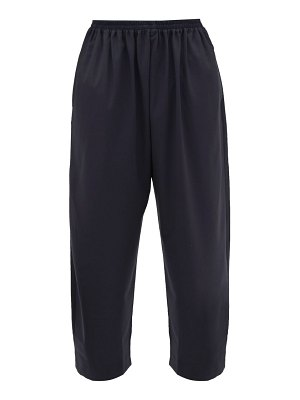 eskandar wide-leg wool-blend trousers