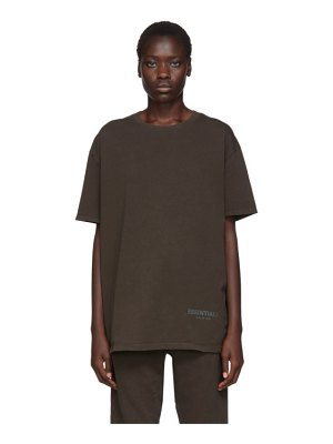 Essentials khaki boxy t-shirt