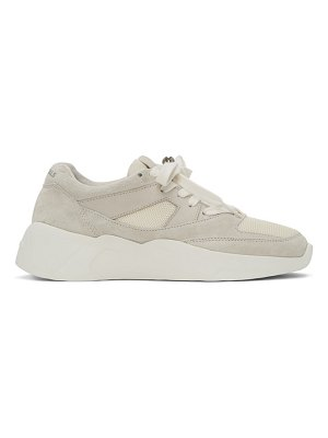 Essentials off-white and grey distance sneakers