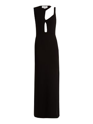 ESTEBAN CORTÁZAR Asymmetric cut-out knitted gown