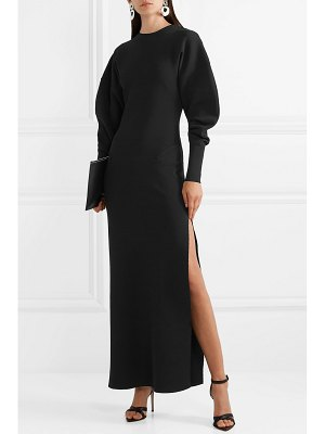 Esteban Cortazar capri open-back knit gown