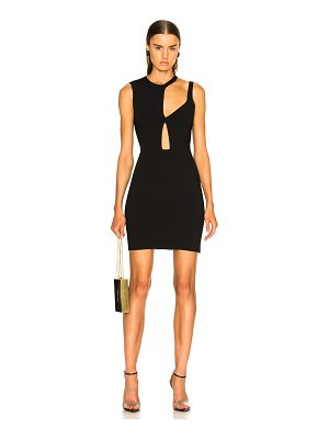 Esteban Cortazar Cutout Mini Dress