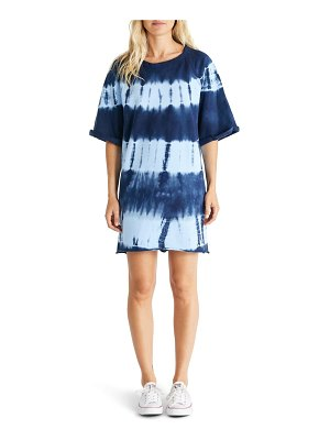 ETICA brooklyn tie dye shirtdress