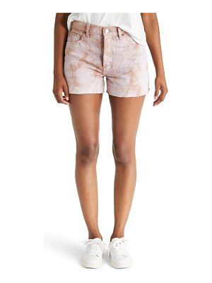 ETICA sydney high waist cutoff denim shorts
